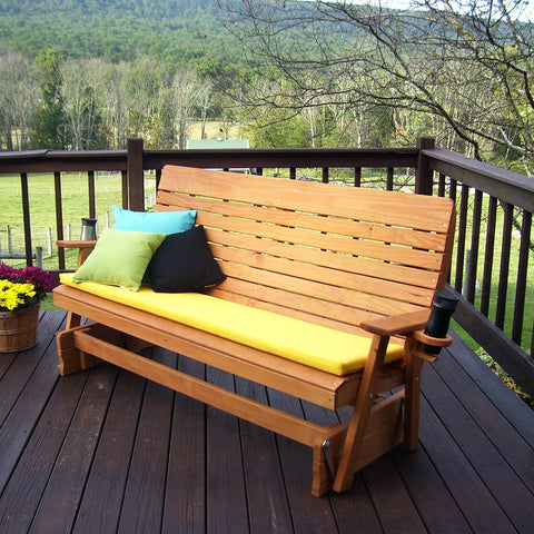 A&L Furniture Co. Highback Pressure Treated Porch Glider