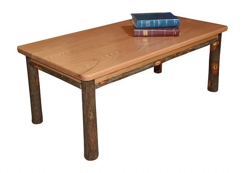 A&L Furniture Co. Hickory Solid Wood Coffee Table