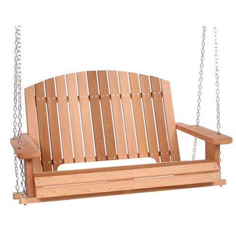 All Things Cedar Pergola 4ft. Red Cedar Porch Swing