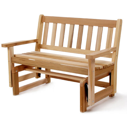 All Things Cedar Dolfield 4ft. Red Cedar Glider Bench