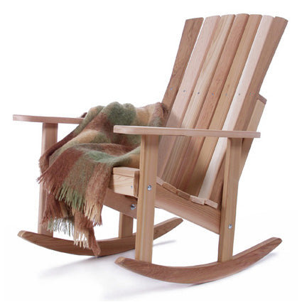 All Things Cedar Athena Red Cedar Porch Rocker