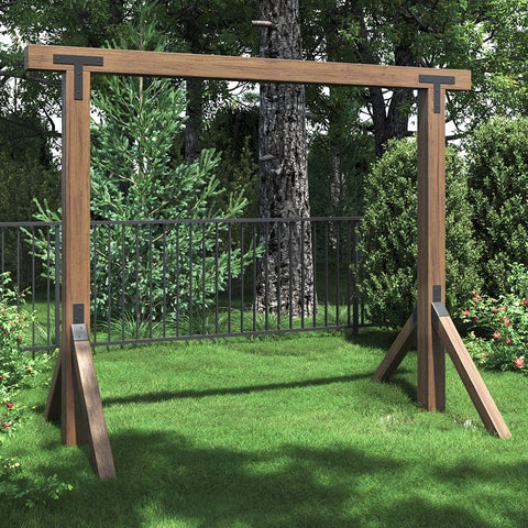Breezy Acres DIY Swing Stand Bracket Kit (No Wood)