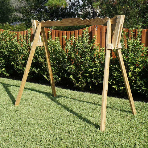 Beecham Swing Co. Treated A-Frame Swing Stand