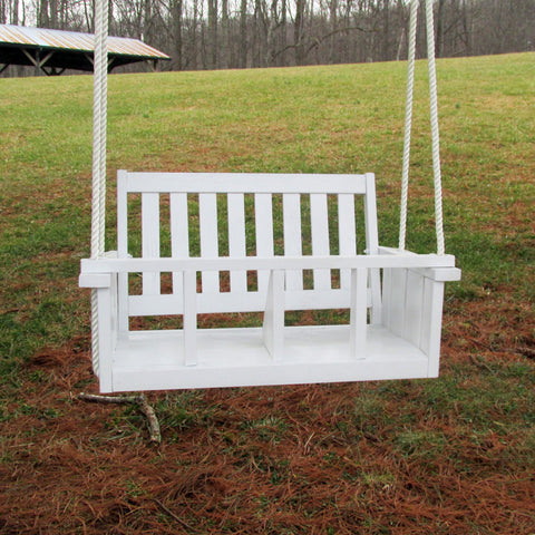 Child Swing Company Double Mission Kiddie Rope Swing Chair