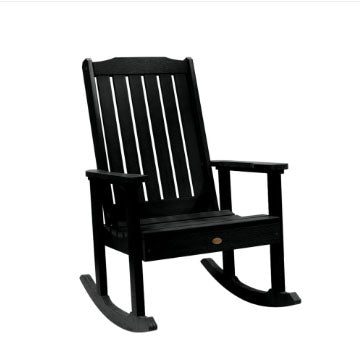 Highwood USA Lehigh 3pc. Recycled Plastic Rocking Chair Set