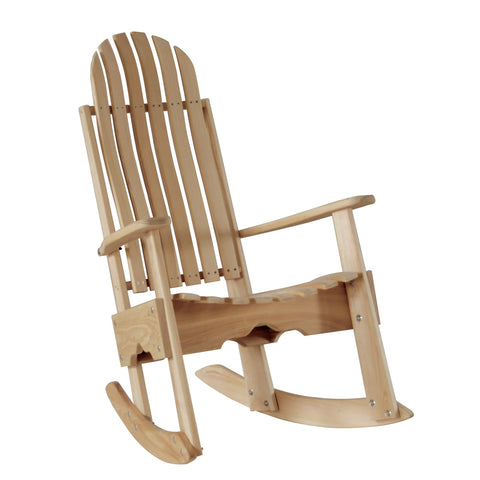 Hershyway Grandpa Series Cypress Rocking Chair