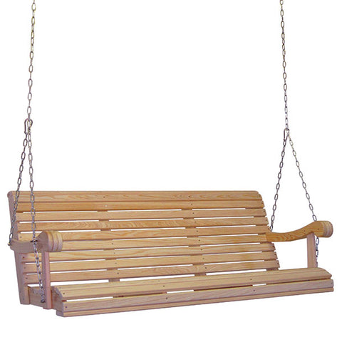 Hershyway Grandpa Series 5ft. Cypress Porch Swing