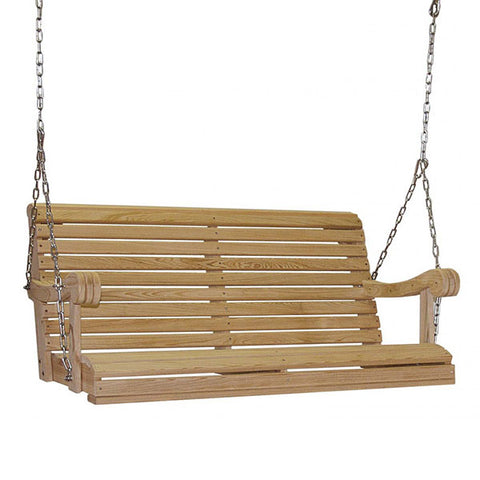 Hershyway Grandpa Series 4ft. Cypress Porch Swing
