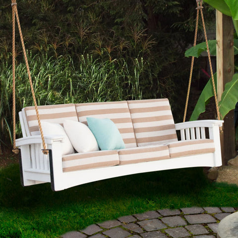 Hershyway Days Ends Sofa Style Rope Recycled Plastic Daybed Swing