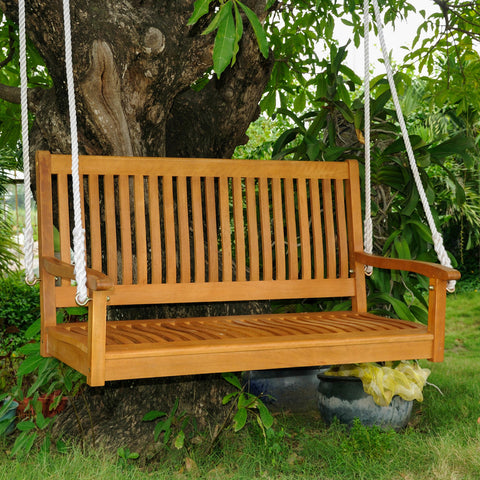 International Caravan Royal Tahiti Oliver 4ft. Porch Swing