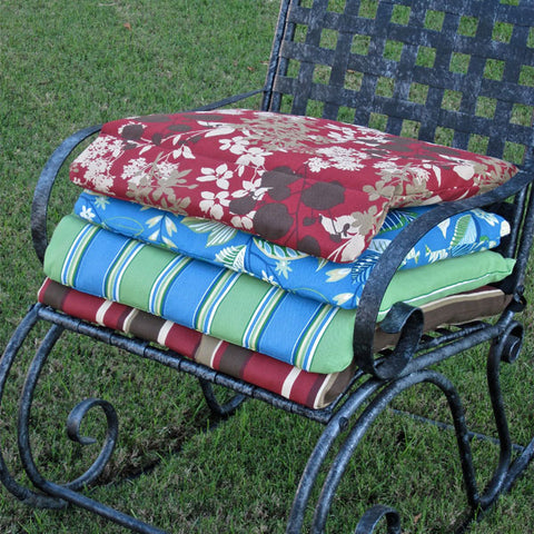 International Caravan Mandalay Wrought Iron Rocking Chair