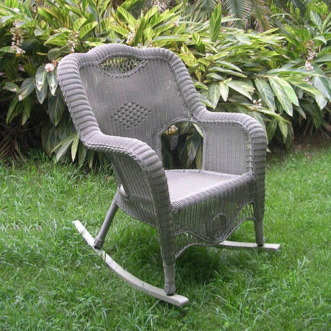 International Caravan Riviera Resin Wicker Rocker