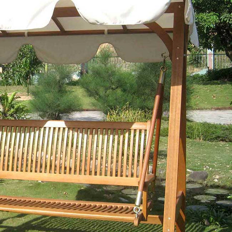 International Caravan Royal Tahiti Cordoba 3-Seater Swing Canopy Set