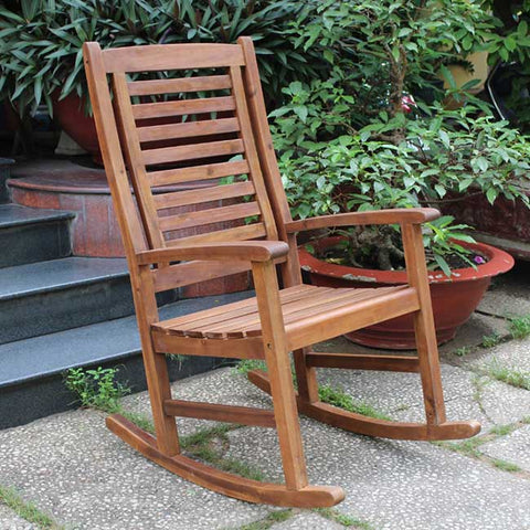 International Caravan Andora Rocking Chair