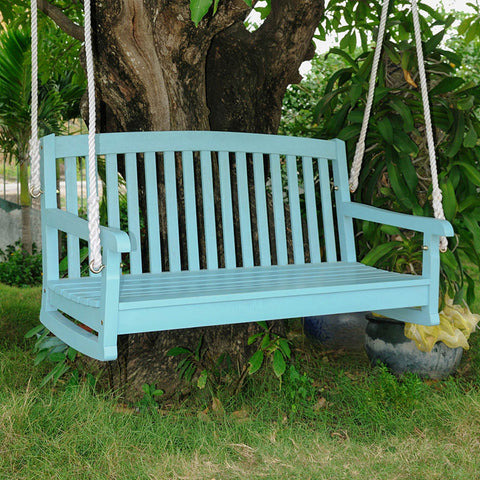 International Caravan Chelsea 4ft. Painted Porch Swing