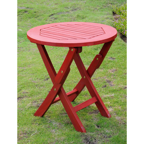International Caravan Chelsea Painted Folding Side Table