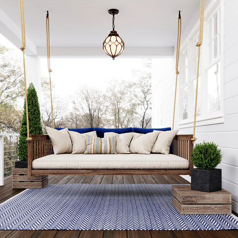 Keystone Amish Co. Columbus Daybed Swing