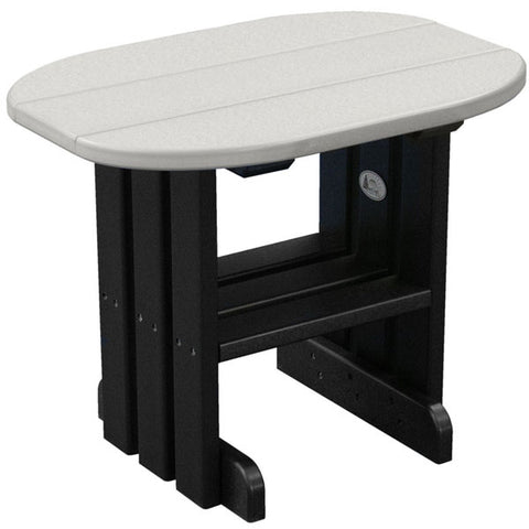 LuxCraft Recycled Plastic End Table