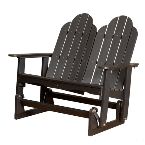 Little Cottage Co. Classic Adirondack 4ft. Recycled Plastic Outdoor Glider