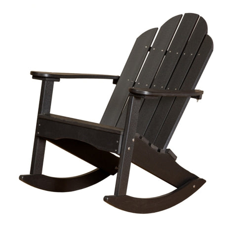 Little Cottage Co. Classic Adirondack Recycled Plastic Rocking Chair
