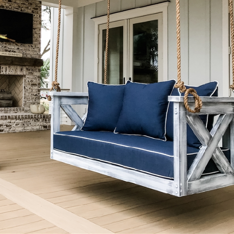 Lowcountry Swing Beds The Cooper River Daybed Swing