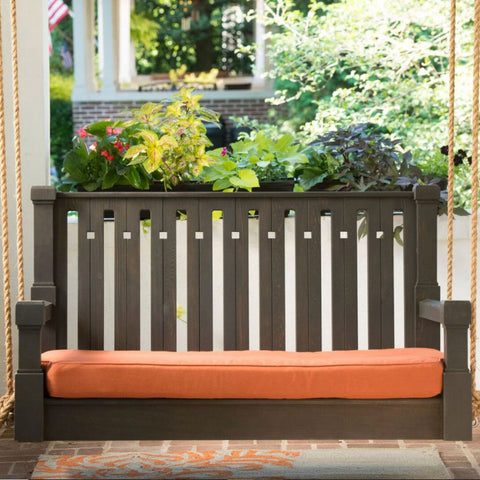 Nostalgic Craftsman Red Cedar Porch Swing