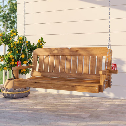 Porchgate Victorian Red Cedar Porch Swing