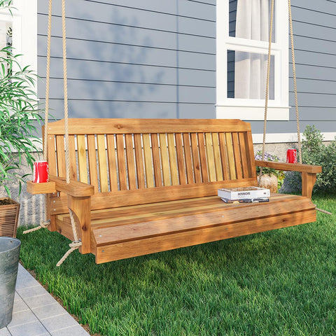 Porchgate Traditional Red Cedar Porch Swing