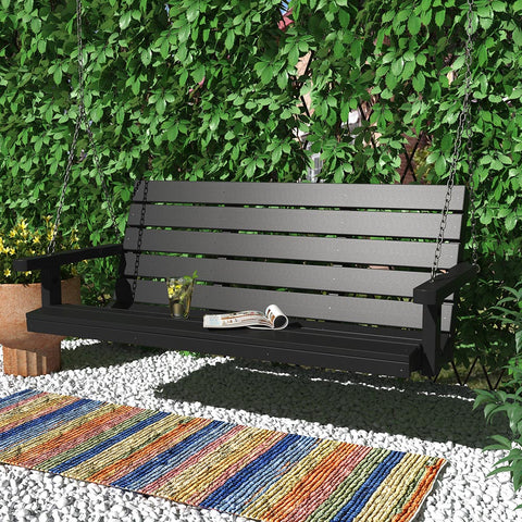 SimplyPoly Amish Made Signature Recycled Plastic Porch Swing