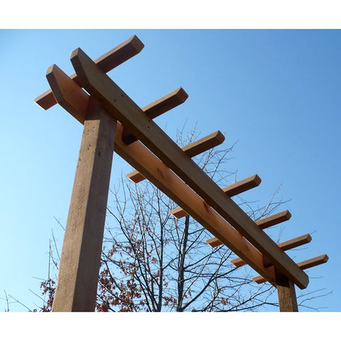 TMP Outdoor Furniture Red Cedar Post Style Arbor Swing Stand