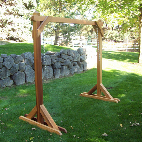 Wood Country Red Cedar Swing Stand
