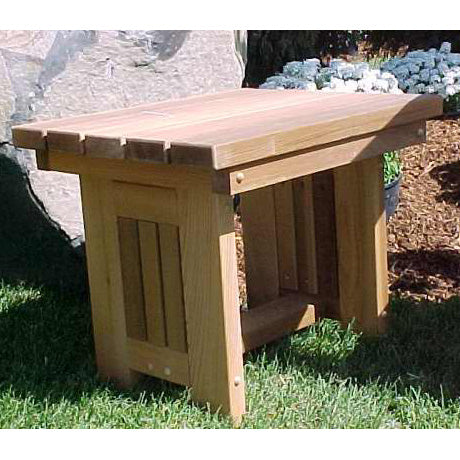 Wood Country Cabbage Hill Red Cedar End Table