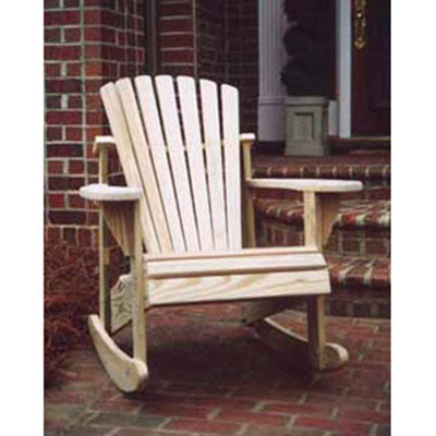 Weathercraft Classic Series Treated Rocker