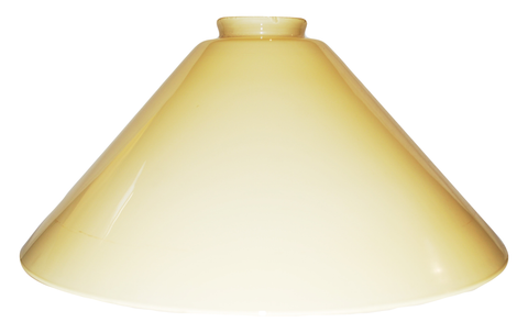 "Vianne Cased  Amber 14"" Cone-2159"
