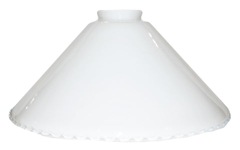 "Vianne Cased Opal Crimp 10"" Cone-2372"