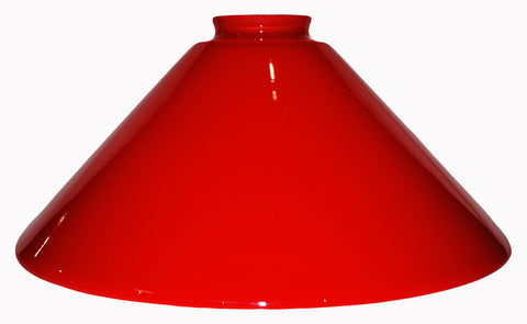"Vianne Cased Red 10"" Cone-241"
