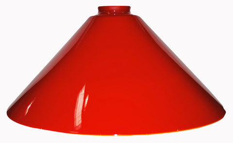 "Vianne Cased Red 14"" Cone-243"