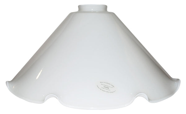 "Vianne Cased Opal Crimp 12"" Cone-2512"