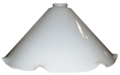 "Vianne Cased Opal Crimp 16"" Cone-2516"