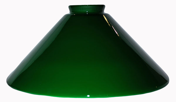 "Vianne Cased Green 10"" Cone-251 - OUT OF STOCK"