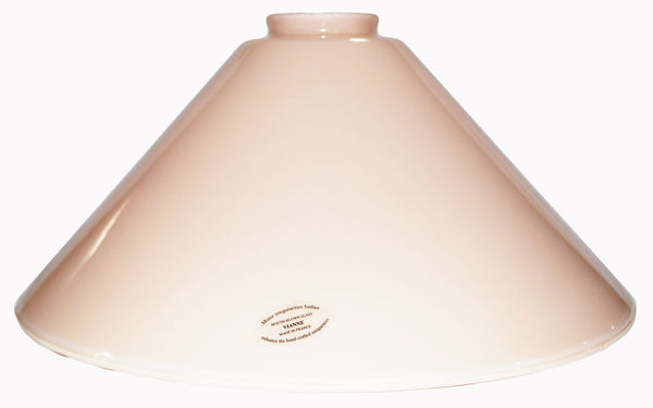 "Vianne Cased Peach 12"" Cone-257"