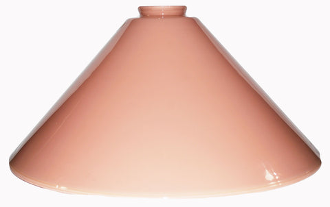 "Vianne Cased Peach 14"" Cone-258"