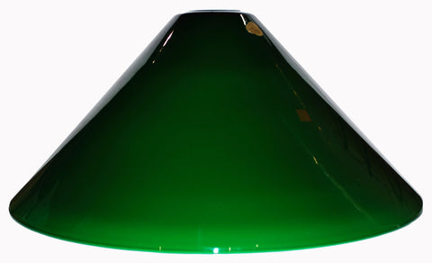 "Vianne Cased Green 16"" Cone-289"