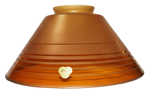 "Vianne Retro Gold Etch 10"" Cone-394"