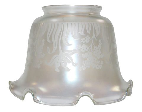 Vianne Iridescent Etch Large Shade-423