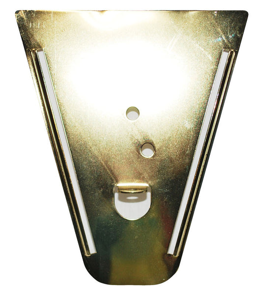 Polished Brass Wall Sconce Backplate-4305 BP-PB