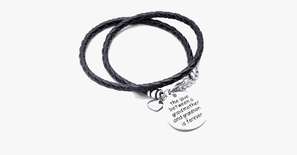 Grandma-Grandson Love Bracelet - Perfect Gift for All Grandmother And Grandsons