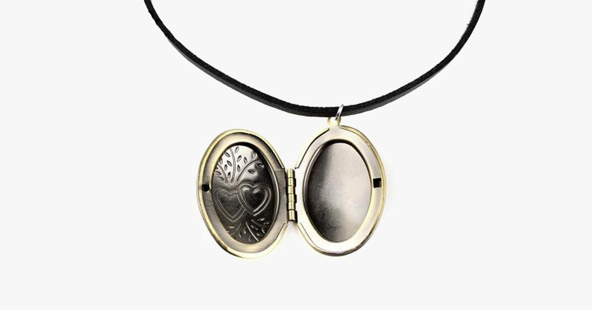 Locket Choker Necklace - FREE SHIP DEALS