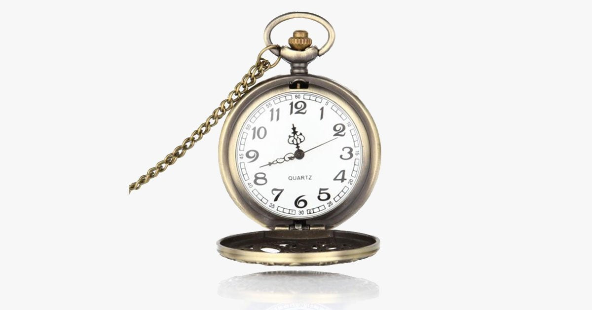 Vintage Bronze Pocket Watch - FREE SHIP DEALS