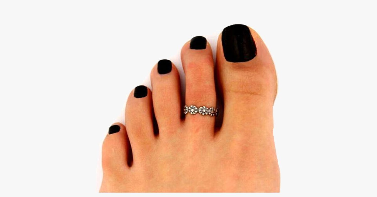 Floral Crown Toe Ring - FREE SHIP DEALS
